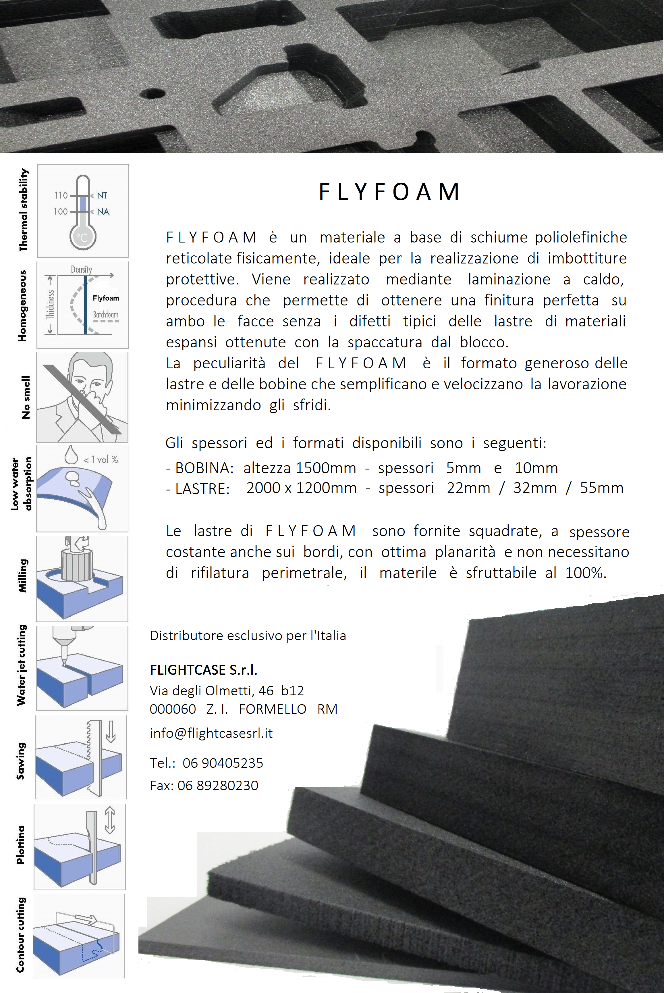 FLIGHTCASE - FLYFOAM